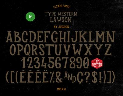 Type Western 2 Lawson
