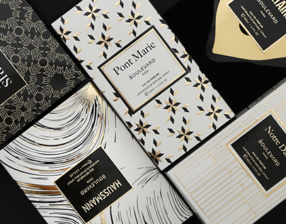 Boulevard Paris · Packaging 2017