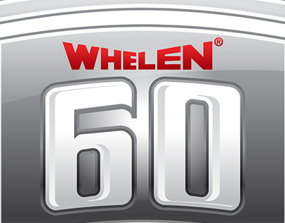 Whelen 60th Anniversary Logo