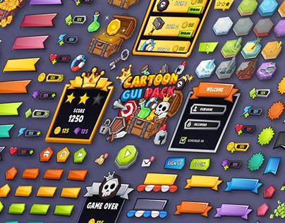 Cartoon GUI Pack