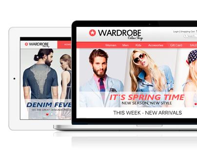 Wardrobe Online Shop // Website & Apps