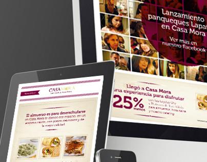 Campaña Facebook :: Casa Mora