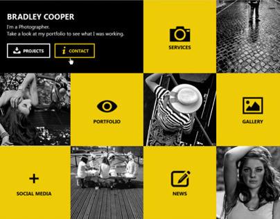 Cooper- Multicolor Flat Professional Resume