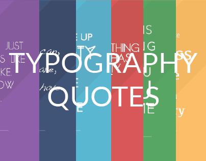 Typographic Quotes