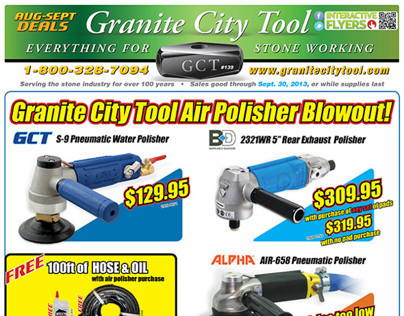Aug-Sept Fabrication Sales 2013 Granite City Tool Flyer