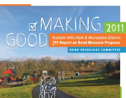 Park District Annual Report | 2011