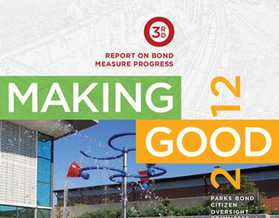 Park District Annual Report | 2012