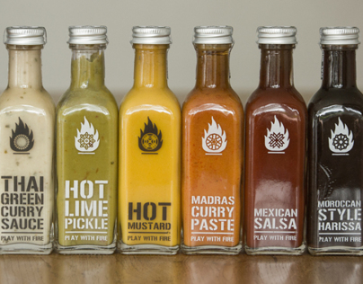 'Play with Fire' Packaging