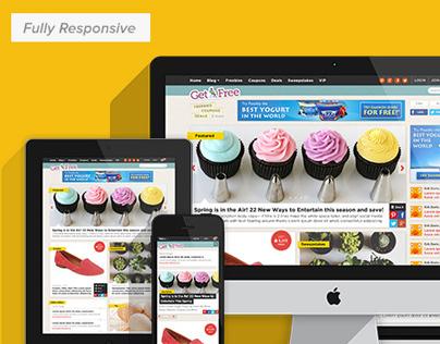 Get it Free Responsive Site