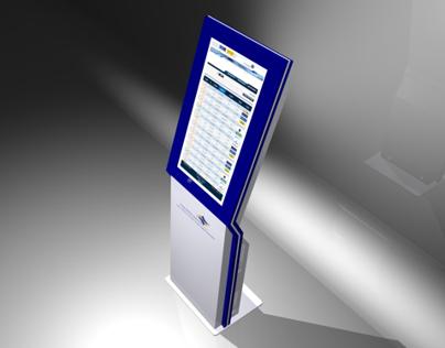 """IAA 32"""" Touch Information Kiosk"""