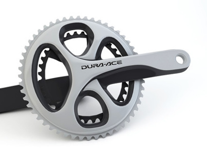 3D Model - Dura-Ace Crankset