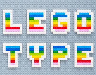 Lego Type Face