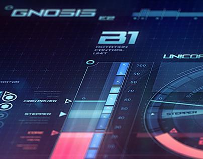 Space ship virtual interface Gnosis