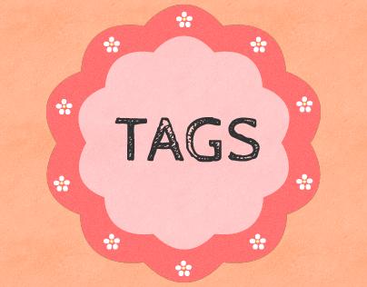 Tags para Festas | Party Tags