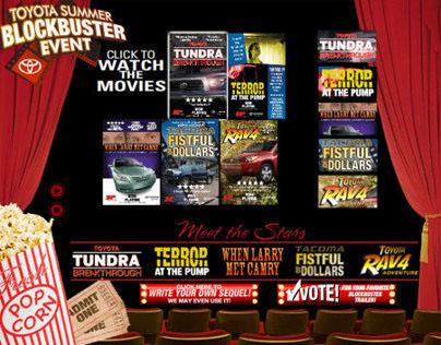 Northwest Toyota Summer Blockbuster Event Website