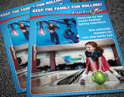 Cosmic Bowling Poster