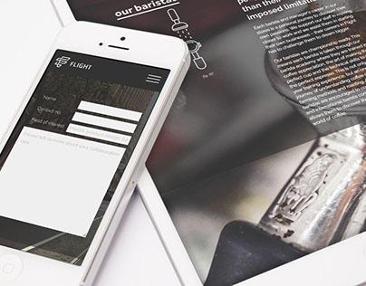 Flight Coffee | Website
