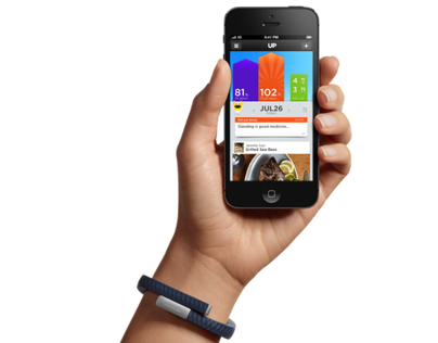 Jawbone UP Device & App UX