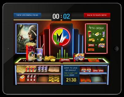 Regal Cinemas - App concept