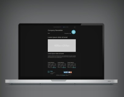 HTML Email Campaign Design