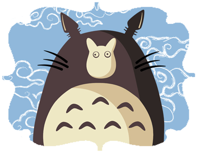 Totoro Projects Photos Videos Logos Illustrations And Branding On Behance