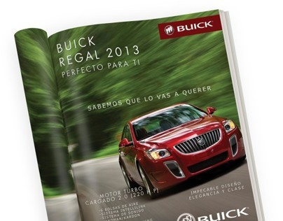 Buick Regal for Local Magazine