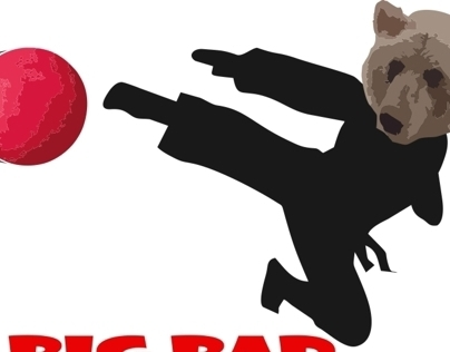 Big Bad Ninja Grizzlies   Logo