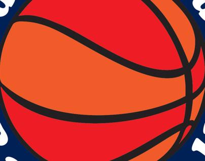 Mid-Monmouth Basketball   Logo