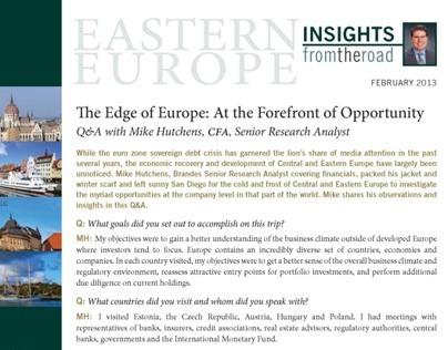 Handout | Insights Europe