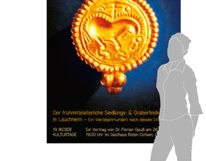 Kelten - Plakate und Postkarten zum Vortrag