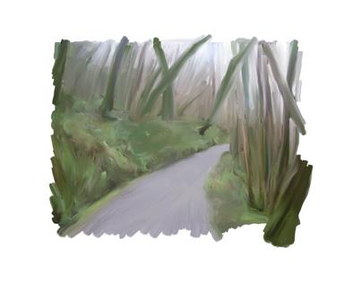 Claddagh Glen - Oil paintings