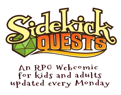 Sidekick Quest the RPG webcomic!