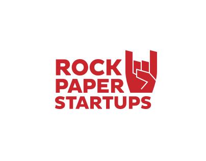 RockPaperStartups, Complete branding and website design