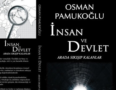 Osman Pamukoğlu - İnsan ve Devlet Book Cover Design