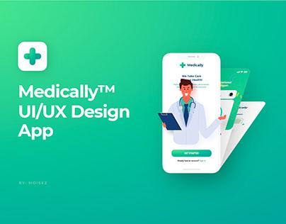 Medically™ UI/UX Design App