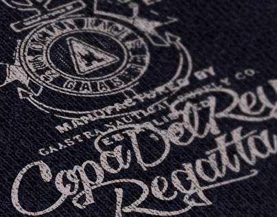 Fashion Logo's & sign off details for menswear apparel