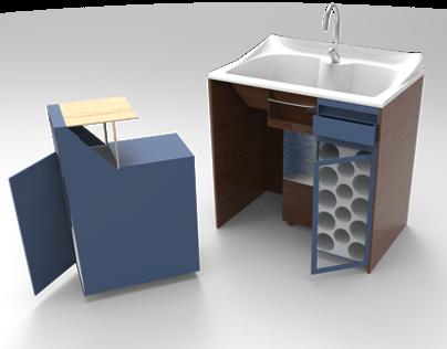 The Kitchen Sink Transporter