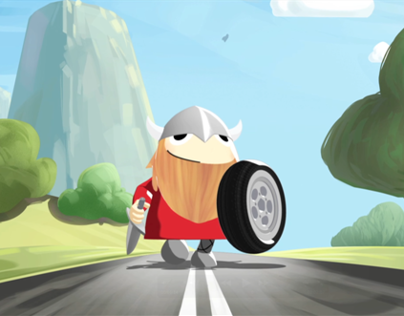 Viking Tyres - Olav's Quest Trailer (2013)