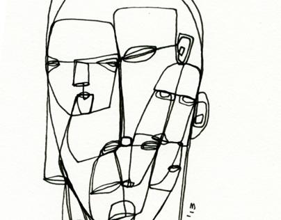 Drawings of portraits Vol. VI