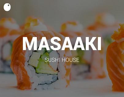 Masaaki - Sushi House // Branding
