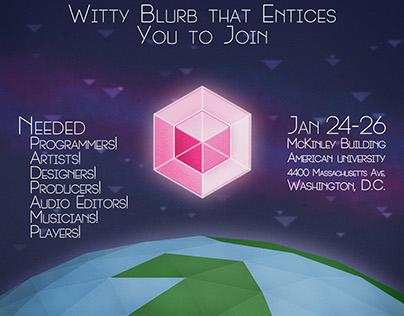 Global Game Jam 2014 Poster