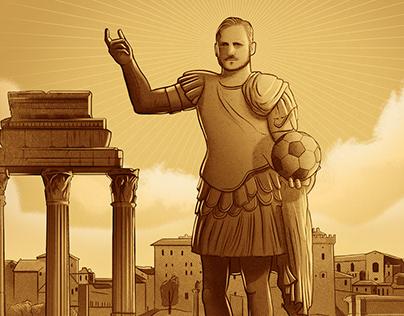 ÆTERNO - Portrait of Francesco Totti