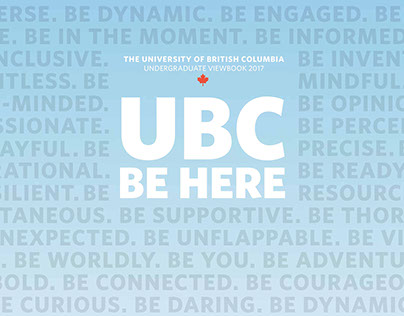 UBC Undergraduate Viewbook 2017