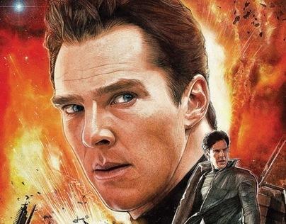 Star Trek: Khan Cover Art #2