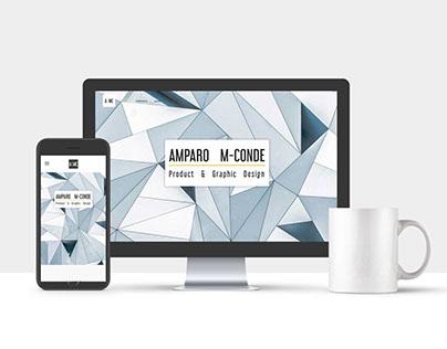 Website _ Amparo M-Conde · Portfolio