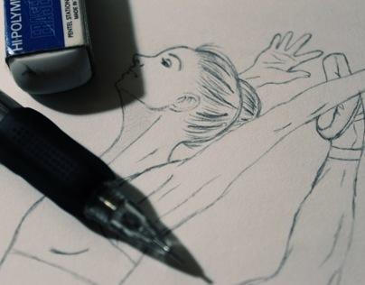 Firebird Leap Illustration