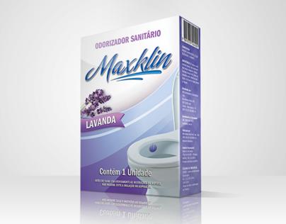 MAXKLIN - Embalagem & Logotipo