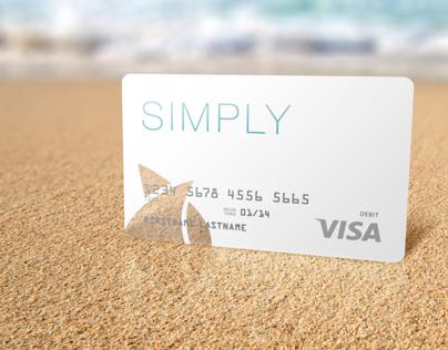 "Seacoast National Bank ""Simply"" Debit Card"