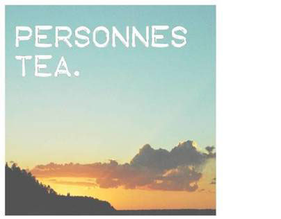 Personnes Tea Co Branding