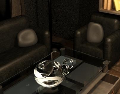 Dreamy Attic - 3D Interior Design